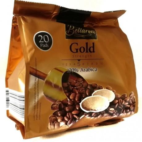 Кофе 100% арабика Gold Bellarom 144г (20 подушечек)