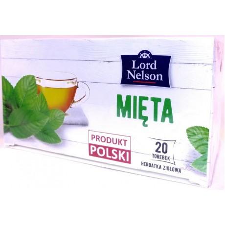 Чай Мята Mieta Herbal Tea 20 пак, Lord Nelson