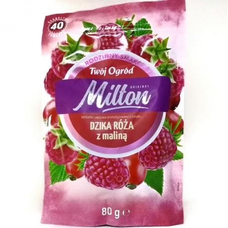 Чай Милтон дикая роза с малиной Milton Dzika Roza z Malina 40 пак