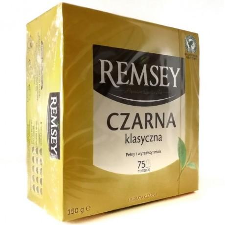 Чай черный Czarna Klasyczna 75 пак 150г, Remsey
