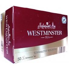 Чай черный Вестминстер Westminster Tea 50 пак, Германия