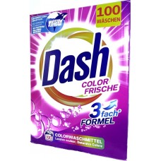 Порошок для стирки Даш Dash Color Frische 6,5 кг (100 стирок), Германия