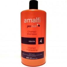 Шампунь профессиональный Amalfi pro hair keratin, 900 мл