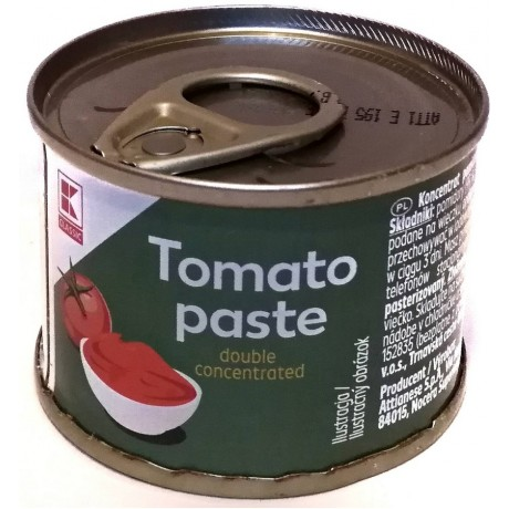 Томатная паста концентрированнаяTomato Paste 70г, Classic