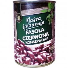 Фасоль консервированная Fasola Czerwona 400 г, Польша