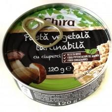 Паштет овощной грибной Chira Pasta Vegetala Tartinabila 120г