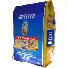 Паста Бантики Де Чекко De Cecco n.193 Farfalle Medie 1 кг, Италия