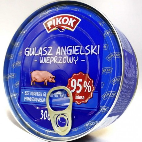 Консерва гуляш Gulasz Angielski 300г, Польша