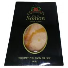 Филе лосося подкопченный Smoked Salmon Fillet sliced 100г, Аляска