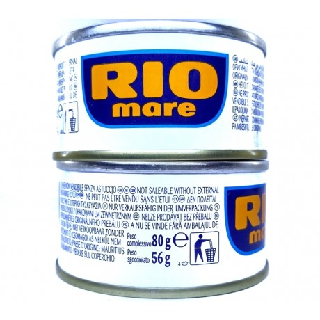 Тунец Рио Маре Rio Mare в соку 80 г, Италия