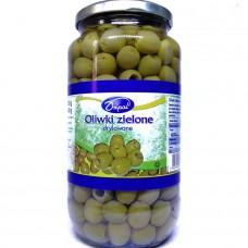 Оливки без косточки Oliwki Zielone drylowane 935 г, Dripol