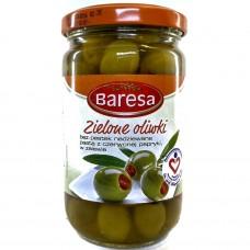 Оливки фаршированные сладким перцем Zielone Oliwki 340 г