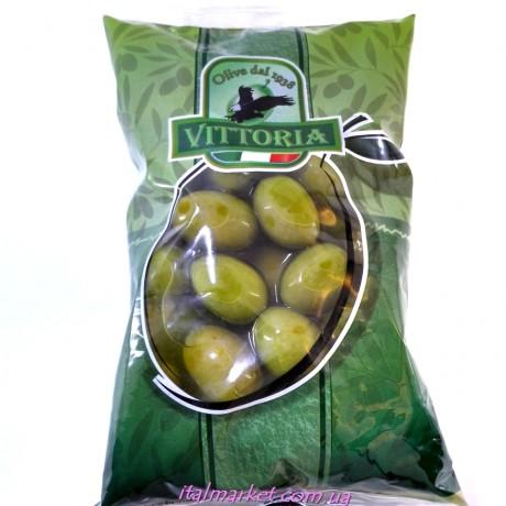 Оливки крупные с косточкой Vittoria 800мл