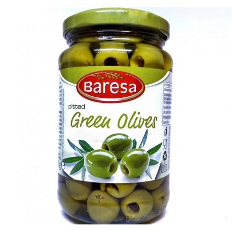 Оливки зеленые Бареса Green Olives Baresa 340 г