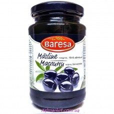 Маслины без косточки Бареса Masline Negre Baresa 340 г