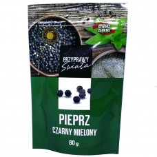 Перец молотый Pieprz czarny mielony 80 г, Польша