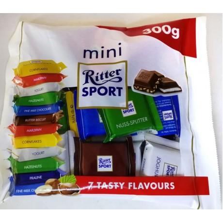 Шоколад Риттер Спорт мини Ritter Sport Mini 7 tasty flavours 300 г