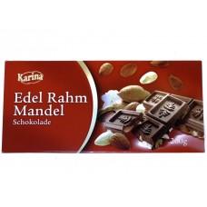 Шоколад  с миндалем Edel Rahm Mandel 200г