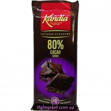 Шоколад чёрный 80% какао Ciocolata Amaruie 80г