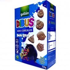 Печенье шоколадное детское Dibus Mini Cereales 250г, Gullon