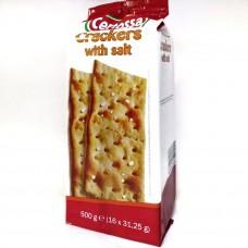Крекер соленый Crackers with salt 500г, Certossa