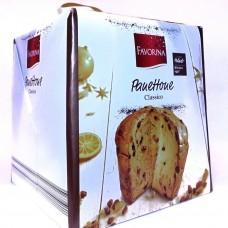 Панеттон цукаты + изюм Panettone Classico 1 кг, Favorina