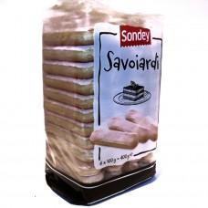 Савоярди палочки Savoiardi 400г, Sondey