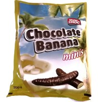 Конфеты Банан в шоколаде Schokolate Banana 200г, Германия