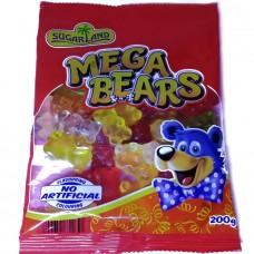 Желейки медвежонки Mega Bears 200г, SugarLand