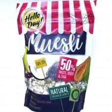 Мюсли с фруктами и чиа Muesli Fruits, Seeds & Chia 300г