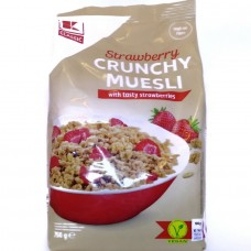 Кранчи с клубникой Crunchy Musli Strawberry 750 г, Classic