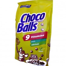 Детские хлопья с какао Choco Balls 9 витаминов 250г, Германия