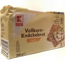 Хлебцы ржаные кунжутные Vollkorn Knackebrot Sesam 250г