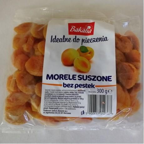 Абрикоси сушені без кісточки Morele Suszone 300г. Польща