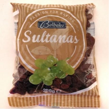 Кондитерский изюм сухой Sultanas 250г, Германия