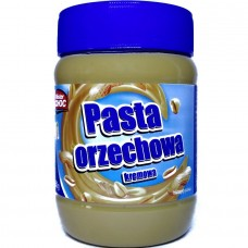 Масло арахисовое кремовое Pasta Orzechowa kremowa 350г, Mister Choc