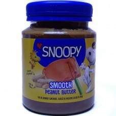 Масло арахисовое Smooth Peanut Butter 340г, Snoopy