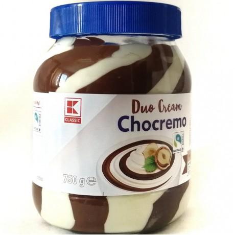 Орехово-молочная паста Duo Crem Chocremo 750г, Германия