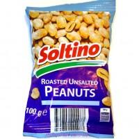 Арахис без соли Roasted Unsalted Peanuts 100г