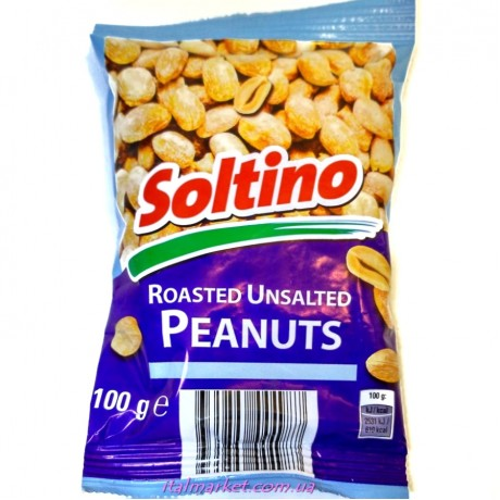 Арахис без соли Roasted Unsalted Peanuts 100г