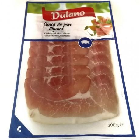 Прошутто нарезка Sunca de porc Dulano 100 г, Германия