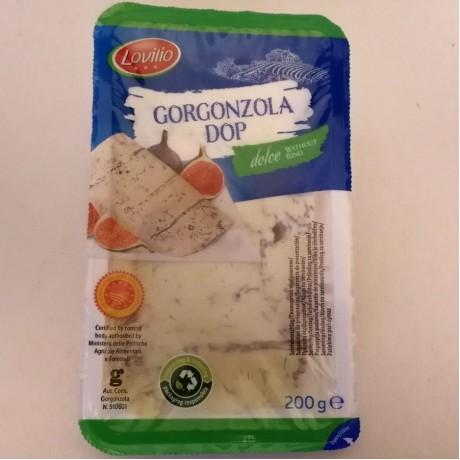 Сыр Горгонзола дольче Gorgonzola Dolce 200 г, Lovilio