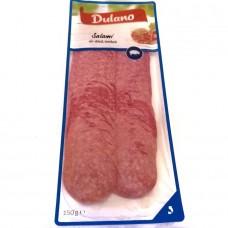 Колбаса нарезка Salami air-driet, smoked 150г, Dulano