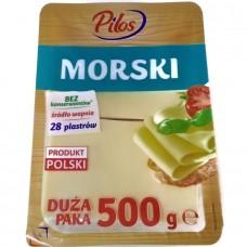 Сыр Морской нарезка Ser Morski w Plastrach 500 г, Польша