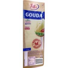 Сыр в нарезке Гауда Gouda 1000г, Польша
