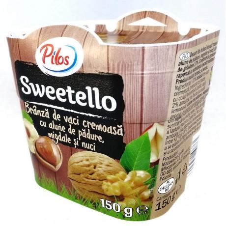 Творожный десерт с орехами Sweetello Alune de Padure 150 г