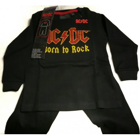 Детская пижама AC DC Born to Rock размер 86