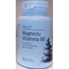 Комплекс Магний + Витамин В6 30 таблеток, Румыния
