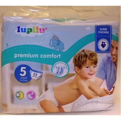 Подгузники Lupilu Premium comfort размер №5 (11-23 кг)  35 шт